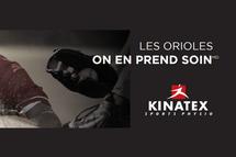 Kinatex, partenaire des Orioles