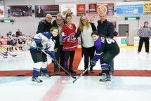 Cérémonie d'ouverture du Tournoi Provincial Hockey féminin Laval