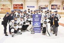 Le Noir et Or de Mortagne est champion du tournoi Midget Espoir de Drummondville