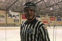Ancien joueur Midget AAA et Junior AAA, Antoine Huot officie maintenant des matchs dans la région Laurentides-Lanaudière (AHM Mirabel).