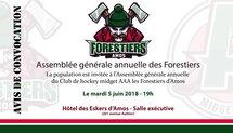 Avis de convocation - Assemblée annuelle des Forestiers