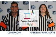 Deux arbitres québécois officieront aux Jeux olympiques de Pyeongchang  2018