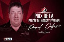 L'entraîneur Pascal Dufresne lauréat du Prix de la percée du hockey féminin