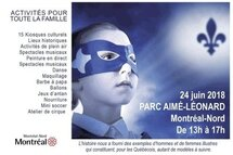 Venez voir notre kiosque à la Fête nationale du Québec à Montréal-Nord