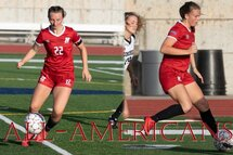 Castle de ortega and Laurie Potvin earn hm all-america honors
