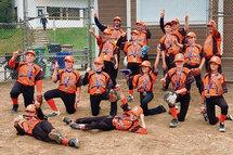 Les Orioles champions régionaux Pee-Wee B