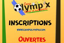 Camp de jour - Inscriptions ouvertes