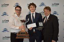 François Lefebvre et Karl Ste-Marie honorés au gala de la Ligue midget AAA