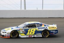 Tagliani in the #18 for the final race of 2108 at Jukasa Motor Speedway