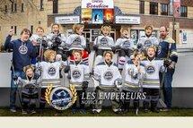 Les Empereurs Novice B au Festival de Hockey mineur Esso