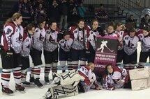 L'équipe Bantam AA des Pionnières de Lanaudière est finaliste à la 15e édition du tournoi provincial de St-Boniface