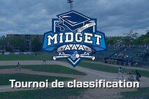L'horaire du tournoi de classification du Midget AAA est maintenant connu