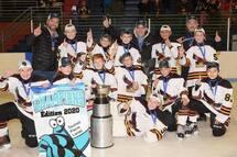 PeeWee C Predators Champions of the Beauharnois Tournament