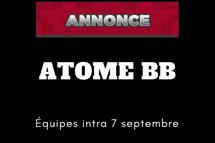 Équipes intra Atome BB