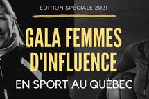 Danièle Sauvageau honorée au Gala Femmes d'influence en sport au Québec : Édition spéciale 2021