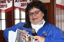 La présidente du tournoi atome de Saint-Jérôme Christiane Lavoie se sent soutenues par son équipe de bénévoles