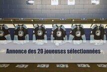 Cinq Pionnières dans l'équipe Québec moins de 18 ans - Jeux du Canada