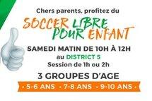Soccer libre pour enfant