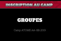 Groupes AA-BB septembre 2019