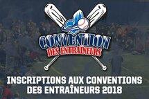 Les inscriptions aux Conventions des entraîneurs sont ouvertes!