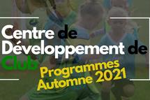 Programmes CDC Automne 2021
