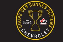 Coupe des bonnes actions Chevrolet: Votez pour l'Intrépide M13!