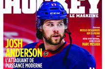 L'attaquant Josh Anderson en vedette dans l'édition de mars de Hockey Le Magazine