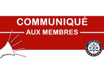 Communiqué aux membres et partenaires AHMJC 20 avril 2020