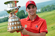 Étienne Papineau (Photo: Golf Canada)