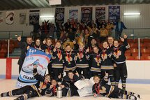 Tigres 1 peewee A champions Daveluyville