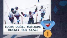 Équipe Québec M16 remporte la médaille d'or aux Jeux du Canada