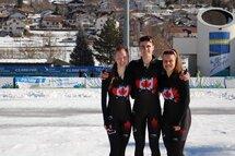 Ophélie Juneau, Hubert Marcotte et Gabrielle Jelonek sont les fiers représentants du Québec au sein de l'équipe canadienne aux Championnats du monde junior longue piste, Baselga di Pinè, en Italie, du 15 au 17 février.