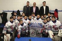Les Grands Ducs du Richelieu Atome AA sont champions de saison