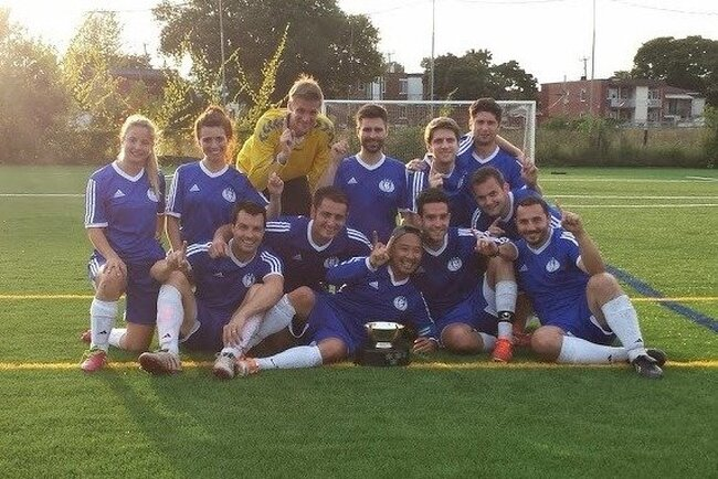 TouchéPHD! champions de la Coupe Normand!