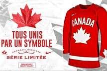 Hockey Canada dévoile un chandail héritage Nike de série limitée pour la saison 2020-2021