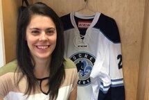 Émy Côté, nouvelle coordonnatrice au hockey féminin