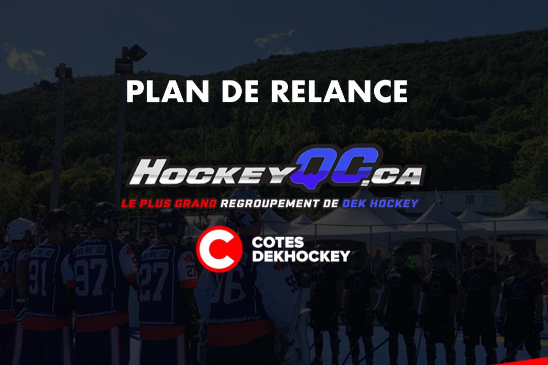 Le regroupement HockeyQC dépose son plan de relance