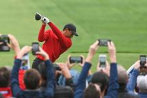Du rouge en l'honneur de Tiger Woods dimanche? (Getty)