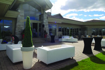 Les terrasses | Club de golf Montcalm: de grands changements