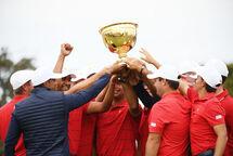 Les États-Unis ont remporté la Coupe des Présidents pour une 11e fois en 13 épreuves. (Getty)