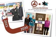 Thomas Bordeleau - 2015 to 2020