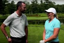 Vidéo | La passion du golf de… Marie-Ève Dicaire