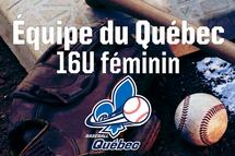 Les athlètes de l'équipe du Québec 16U féminin sont maintenant connues
