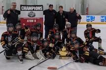 Atom B Predators - win the Ottawa Cougar Cup Tournament