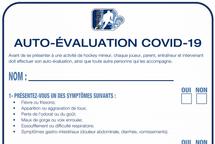 Fiche Auto-évaluation Covid-19
