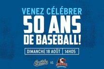 Un match aux couleurs de Baseball Québec au stade des Aigles de Trois-Rivières!