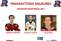 Les Rangers effectuent 3 transactions majeures !