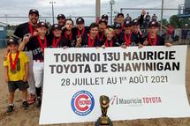 Les Estacades de Trois-Rivières, champions de la classe A