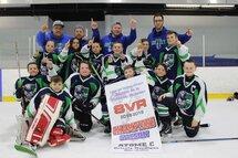 Atome C Nordiques Champions de la saison!