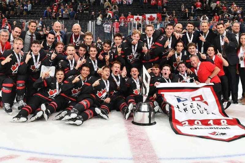 L'or pour le Canada à la Coupe Hlinka-Gretzky
